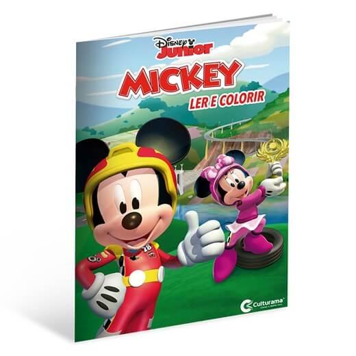 Ler e Colorir Mickey sobre Rodas  Culturama