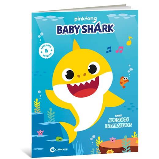 Livrão Baby Shark: Atividades Para Aprender e Brincar - Culturama