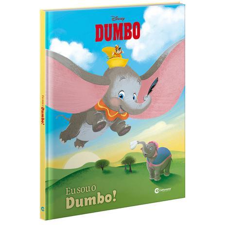 Livro Capa Dura Dumbo Culturama