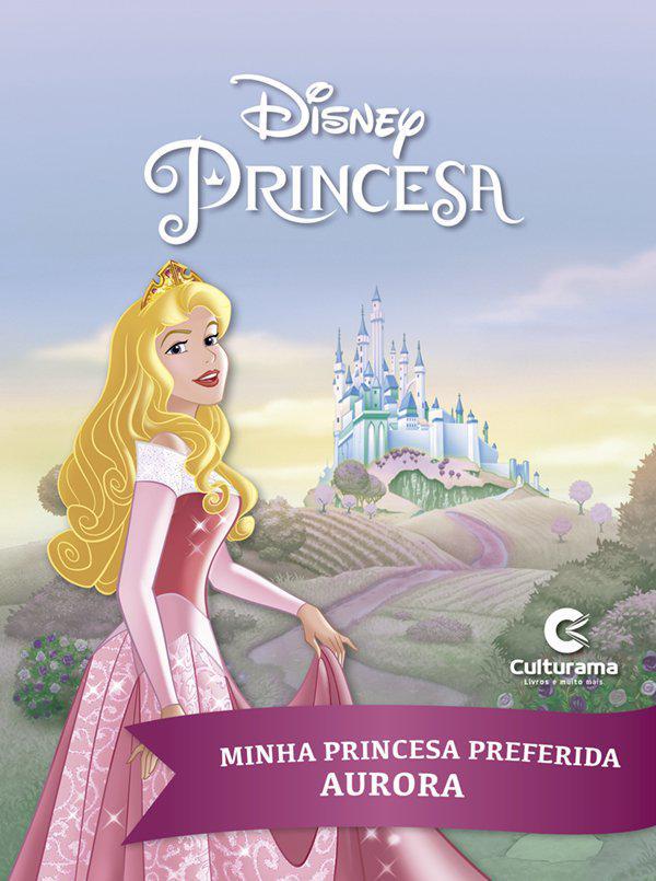 Livro de História Princesa Aurora - Culturama
