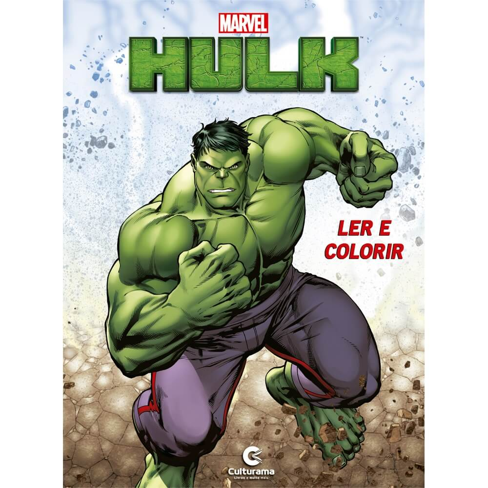 Livro Ler e Colorir Médio Marvel Iron Man Culturama