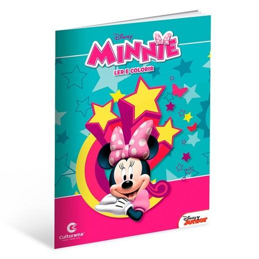 Livro Ler e Colorir Minnie Culturama