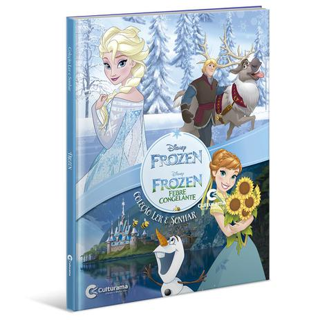 Livro Ler e Sonhar Disney Frozen - Culturama