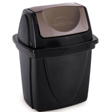 Lixeira Basculante Ecoblack 6,5l - Plasutil