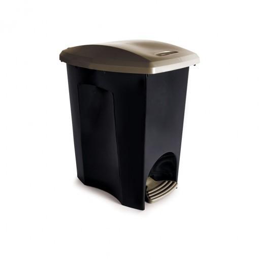 Lixeira Ecoblack 15 Litros com Pedal Plasútil