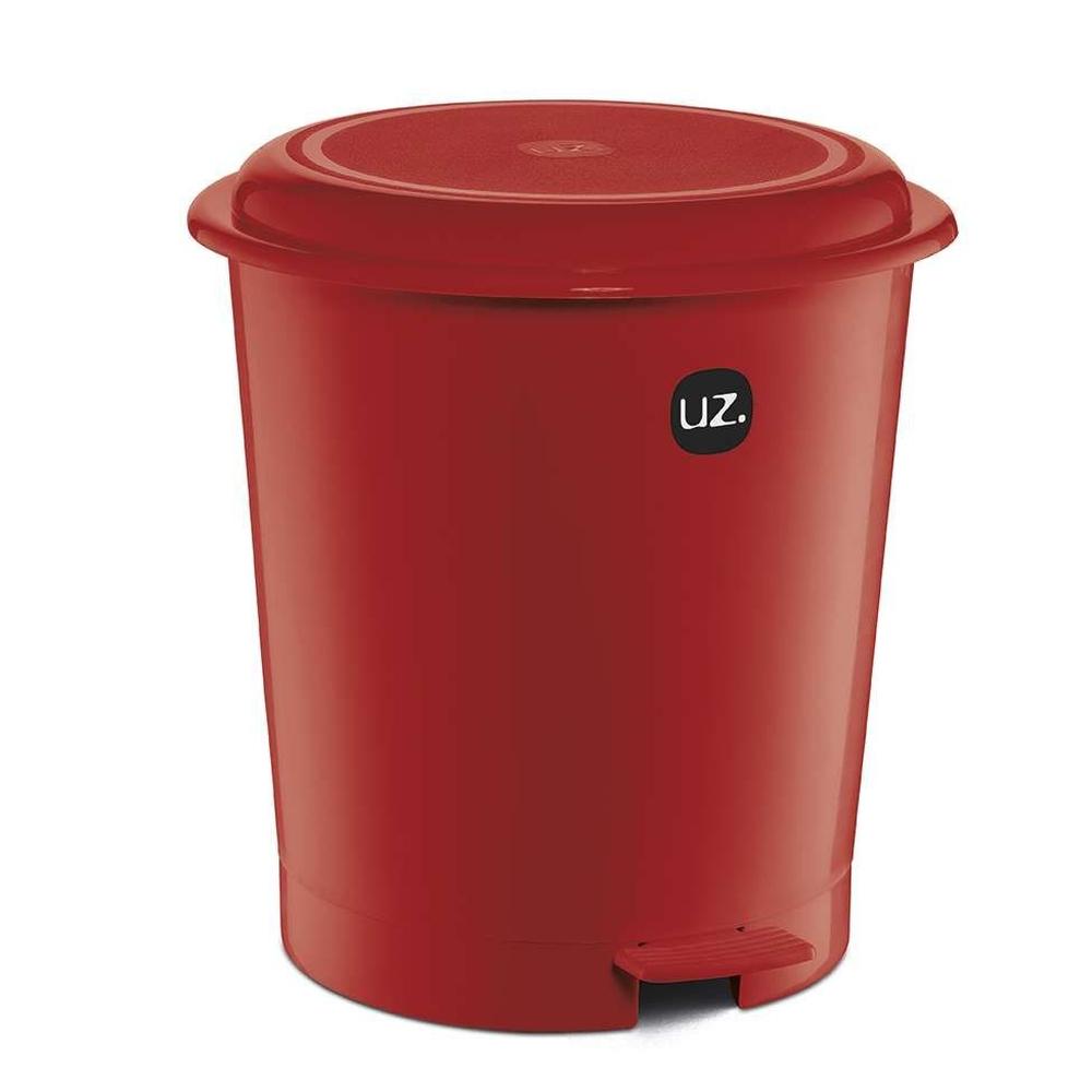 Lixera Vermelha com Pedal 12L - UZ