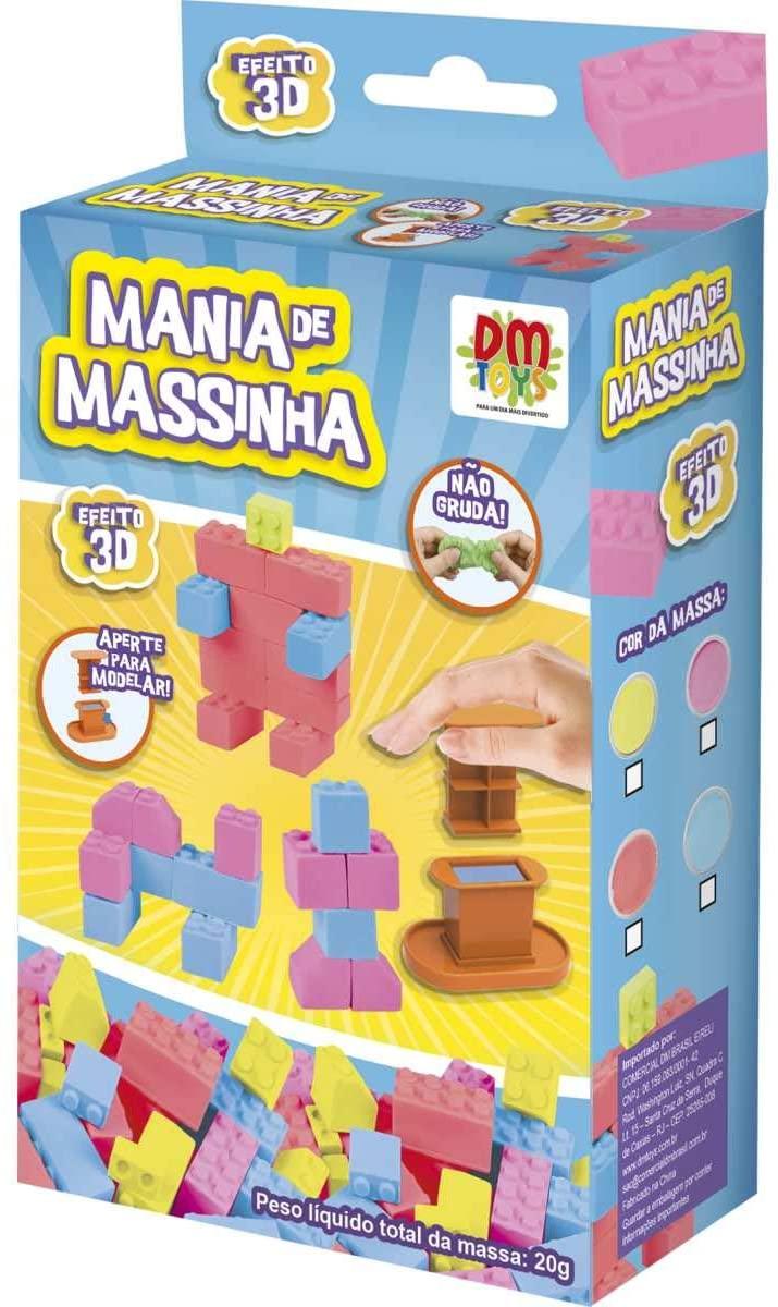 Massa de Modelar Criativa Mania de Massinha Dm Toys