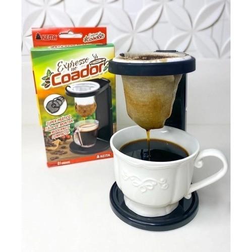 Mini Coador de Café 17cm Kza Keita