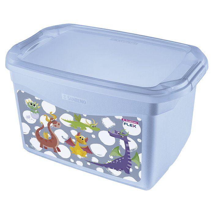 Organizador Plástico 29 L Azul Sanremo