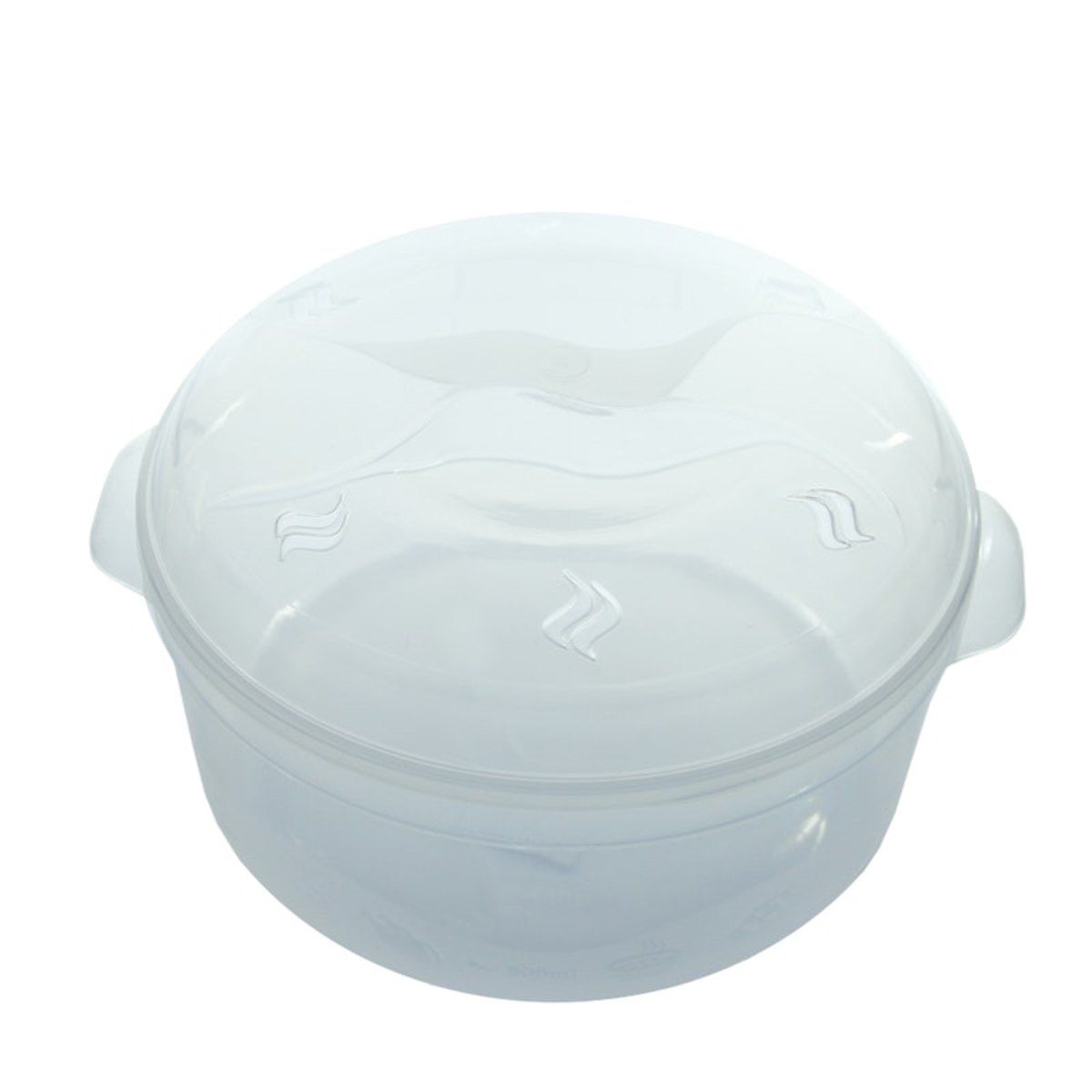 Panela para Microondas de Plástico 2,5L Plasvale