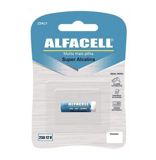Pilha Alcalina 23A 12V Alfacell