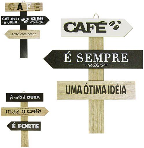 Placa Frases Madeira - FWB