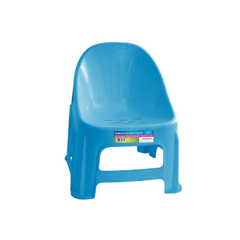 Poltrona Conforto Infantil Azul Paramount