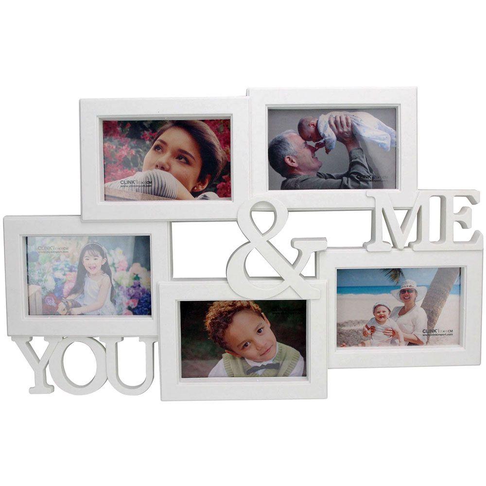 Porta Retrato You & Me 5 Fotos 15x10cm