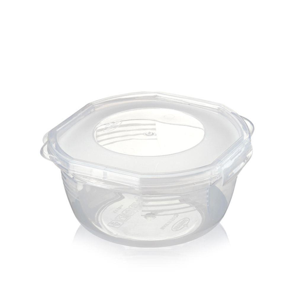 Pote Plástico Redondo 1L com Travas - Nitron