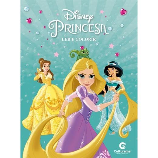 Princesas Ler e Colorir  - Culturama