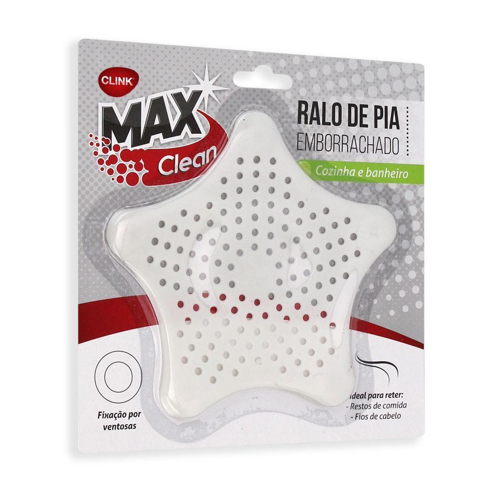 Ralo Emborrachado para Pia, Cozinha ou Banheiro Max Clean