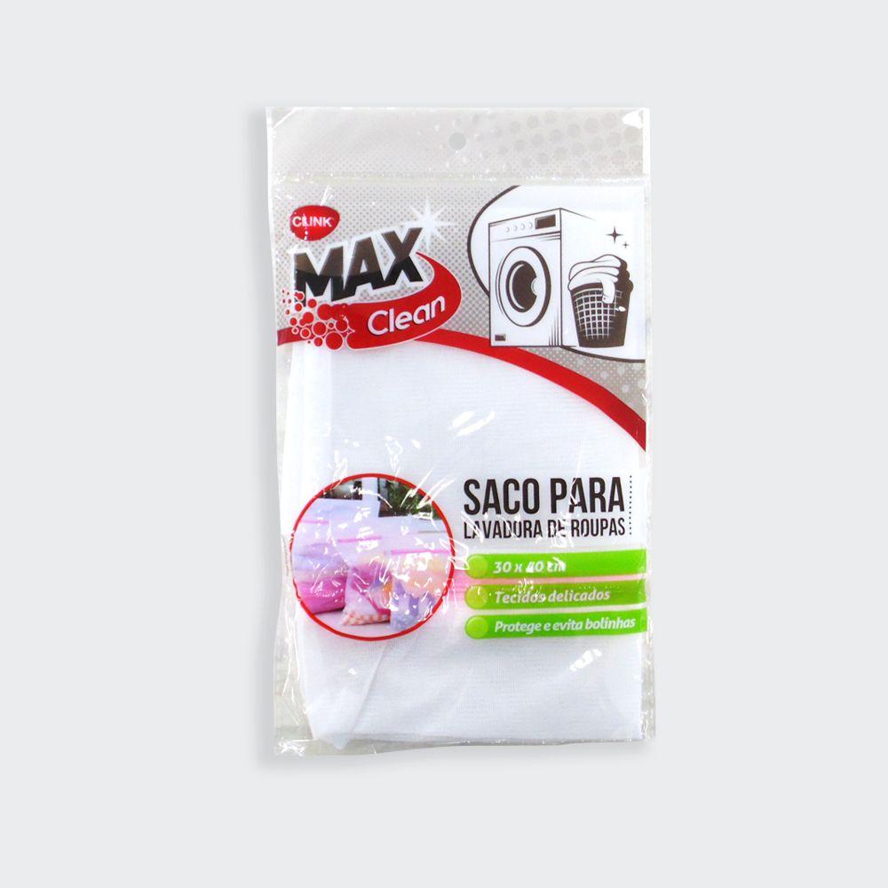 Saco Para Máquina de Lavar Roupas Poliéster 30x40cm Clink