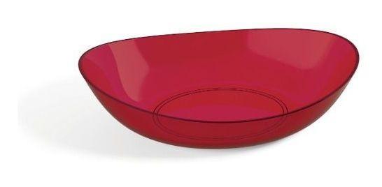 Saladeira Oval 4L Vermelha UZ