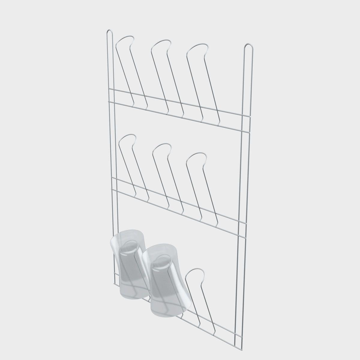 Secador de Copos Aramado para 09 Copos Stolf