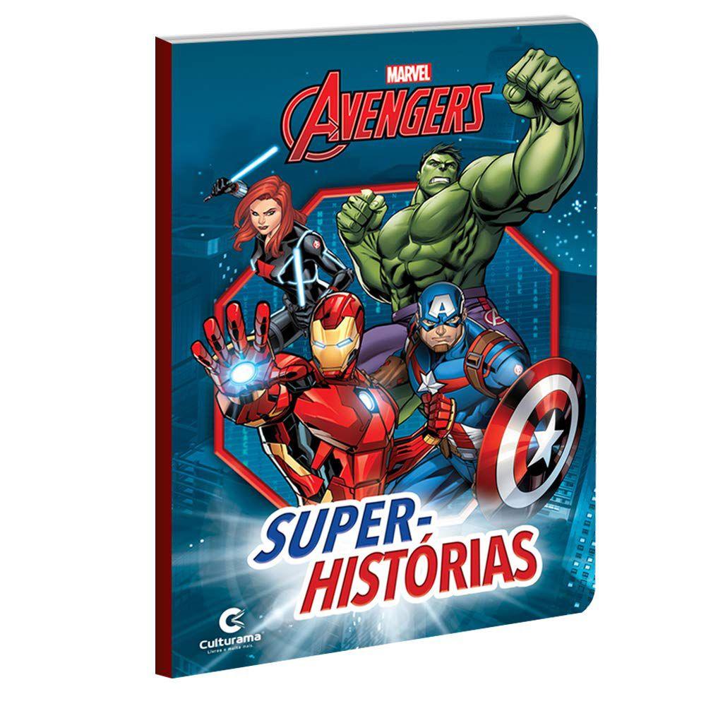 Livro Super Histórias Vingadores