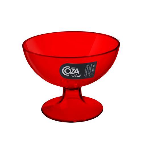 Taça de Sobremesa Vermelho 150ml COZA