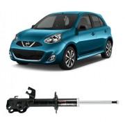 Amortecedor Dianteiro Esquerdo Nissan March 2012 Até 2016