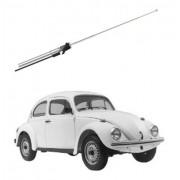 Antena Automotiva Fusca Vw Cromada 4 Estágios Resistente