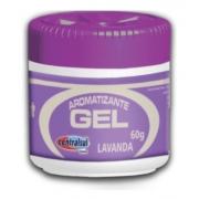 Aromatizante Gel Perfumado Lavanda 60g Centralsul