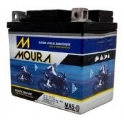 Bateria Moto Moura MA5D