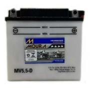 Bateria Moto Moura Mv5.5-d 12 Volts