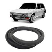 Borracha Vigia Volkswagen Brasilia S/ Friso