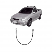 Cabo Tampa Traseira Chevrolet Corsa Pick Up 1995/ 425mm