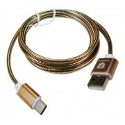 Cabo Usb Tipo C 2a Turbo Reforçado 1,2 Metros Android iPhone