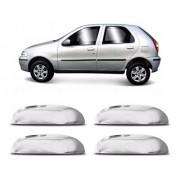 Capa Aplique Cromado Maçaneta Fiat Palio 1996/2003 4 Portas