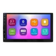 Central Multimídia E-tech Light 2 Din 7'' Touch Screen