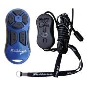 Controle Longa Distância Jfa K1200 Completo Azul
