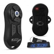 Controle Longa Distância Jfa K1200 Completo Preto