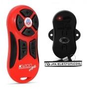 Controle Longa Distância Jfa K1200 Completo Vermelho