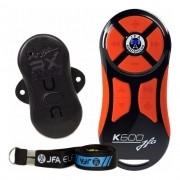 Controle Longa Distância Jfa K600 Universal Preto C/ Laranja