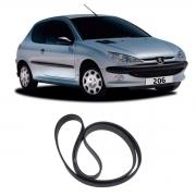 Correia Poly V Peugeot 206 1.4 1.6 1999/2001 Corolla 2002/
