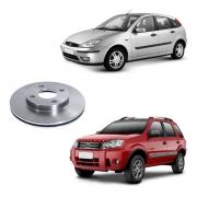 Disco De Freio Dianteiro Ecosport 2003/2011 Focus 2000/2007