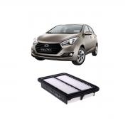 Elemento Filtro De Ar Hyundai Hb20 2012 Em Diante