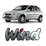 Emblema Adesivo Resinado Chevrolet Corsa Wind
