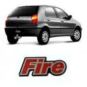Emblema Adesivo Resinado Palio Uno Fire