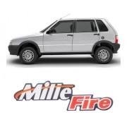 Emblema Adesivo Resinado Uno Mille Fire