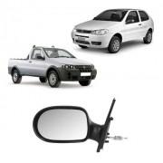 Espelho Retrovisor Esquerdo Palio Strada 2011/2013 Manual