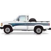 Faixa Lateral Chevrolet D20 1996 Azul