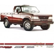 Faixa Lateral Chevrolet D20 1996 Conquest