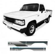 Faixa Lateral Chevrolet D20 De Luxe 1993 Azul